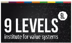 Logo 9 Levels Wertesystem