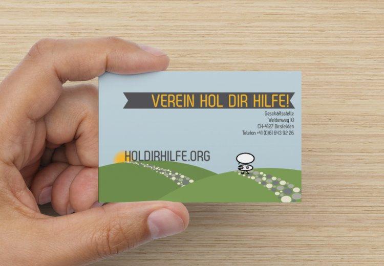 holdirhilfe.org Karte zum Auflegen und Abgeben
