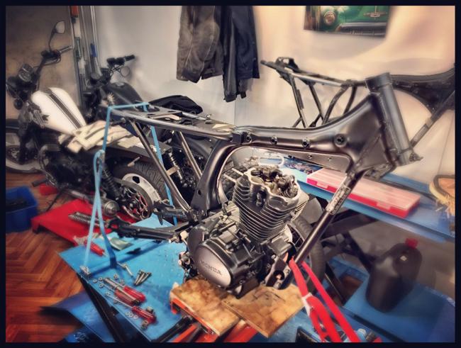 Honda CG 125 Nippon Racer Brat
