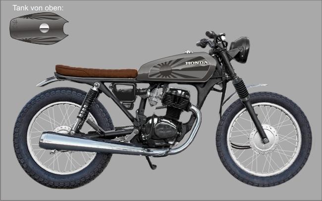 Honda CG 125 'Nippon' for Miro