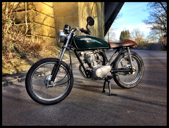 Honda CG 125 British Racing Green