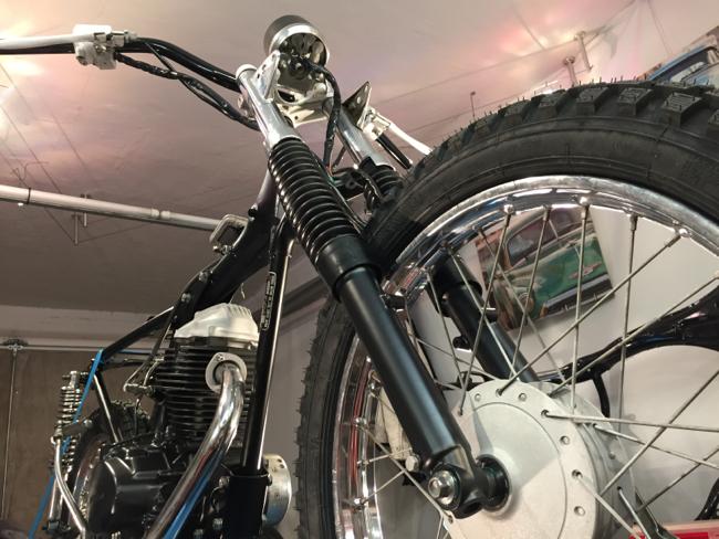 Miro's Honda CG 125 Nippon Racer