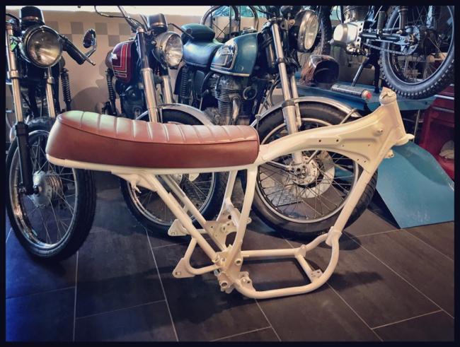 Honda CB 250G Frame