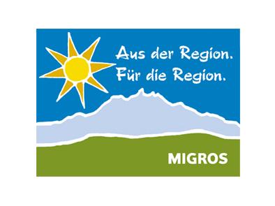 Unter dem Label «Aus der Region. Für die Region.» verkauft die Migros Produkte, die in der Region hergestellt wurden.