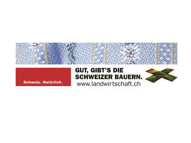Die Basiskampagne «Gut gibt's die Schweizer Bauern» des Schweiz. Bauernverbandes fördert das Verständnis zwischen Produzent und Konsument.