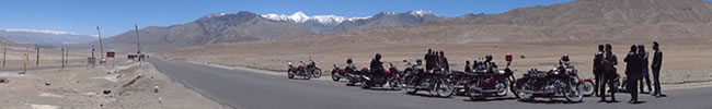 explore ladakh on a motorbike!