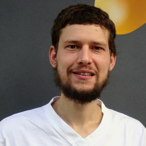 Michael Franz, Milchtechnologe in Ausbildung