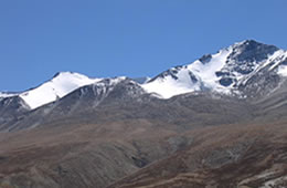 mentok khangri I + II  on the changtang plateau