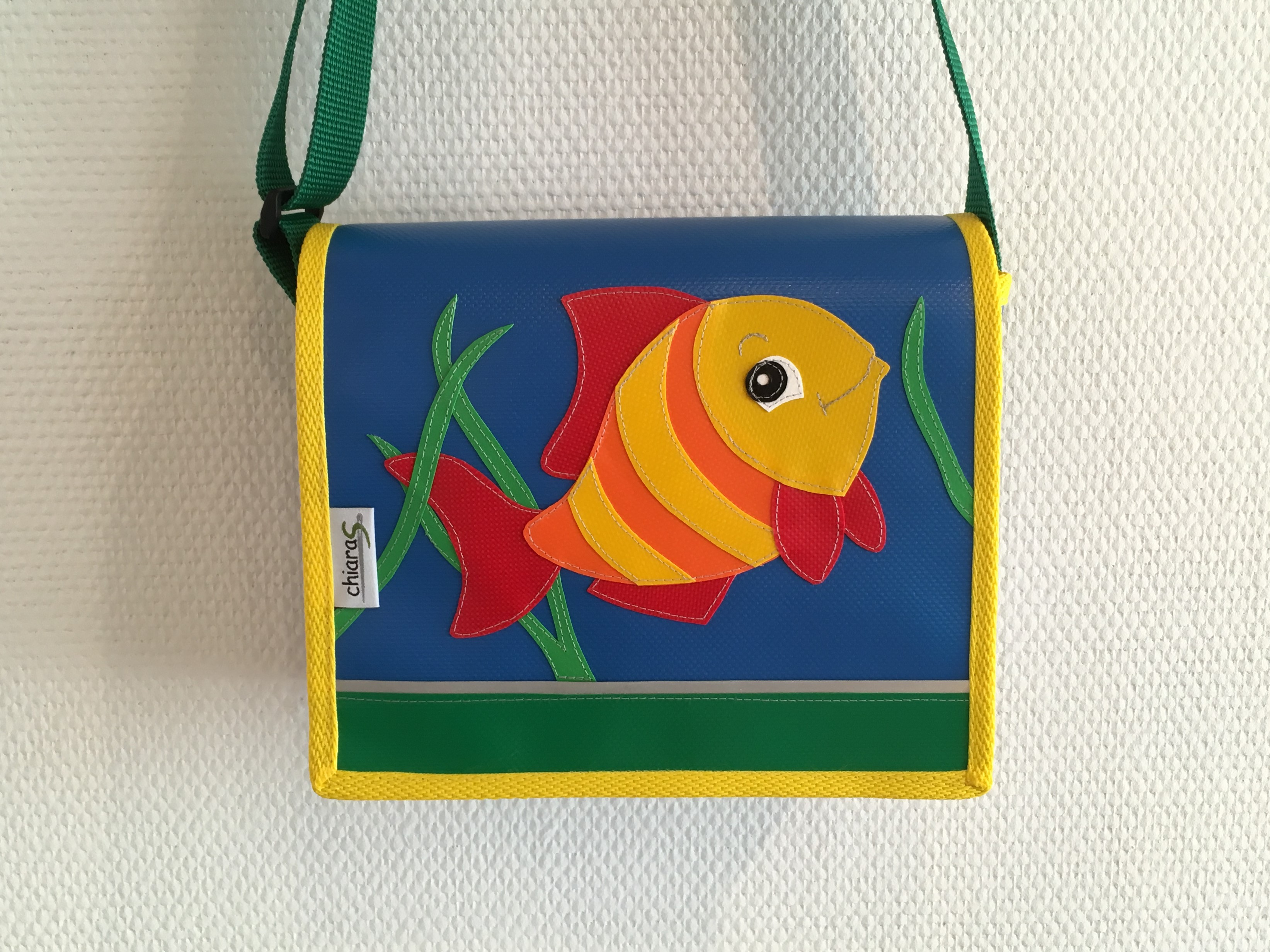 Kindergartentasche Blache Fisch