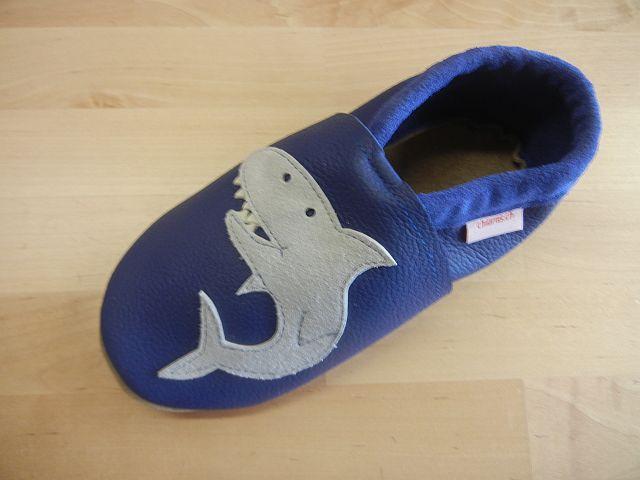 Lederfinkli Babyschuh Hai