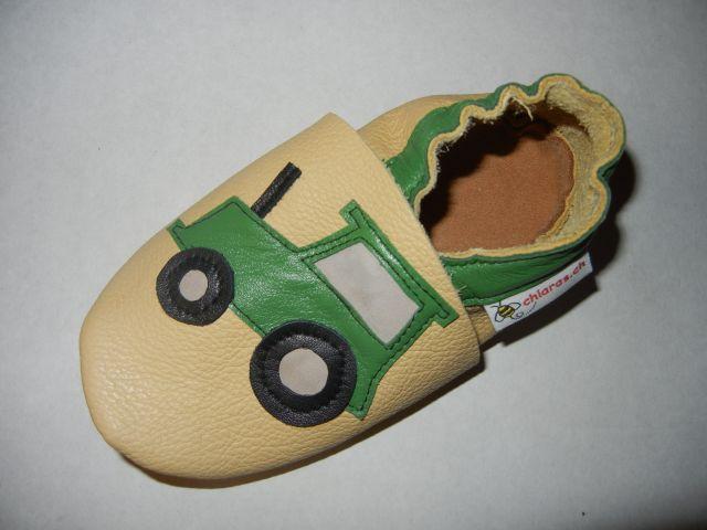Lederfinkli Babyschuh Traktörli