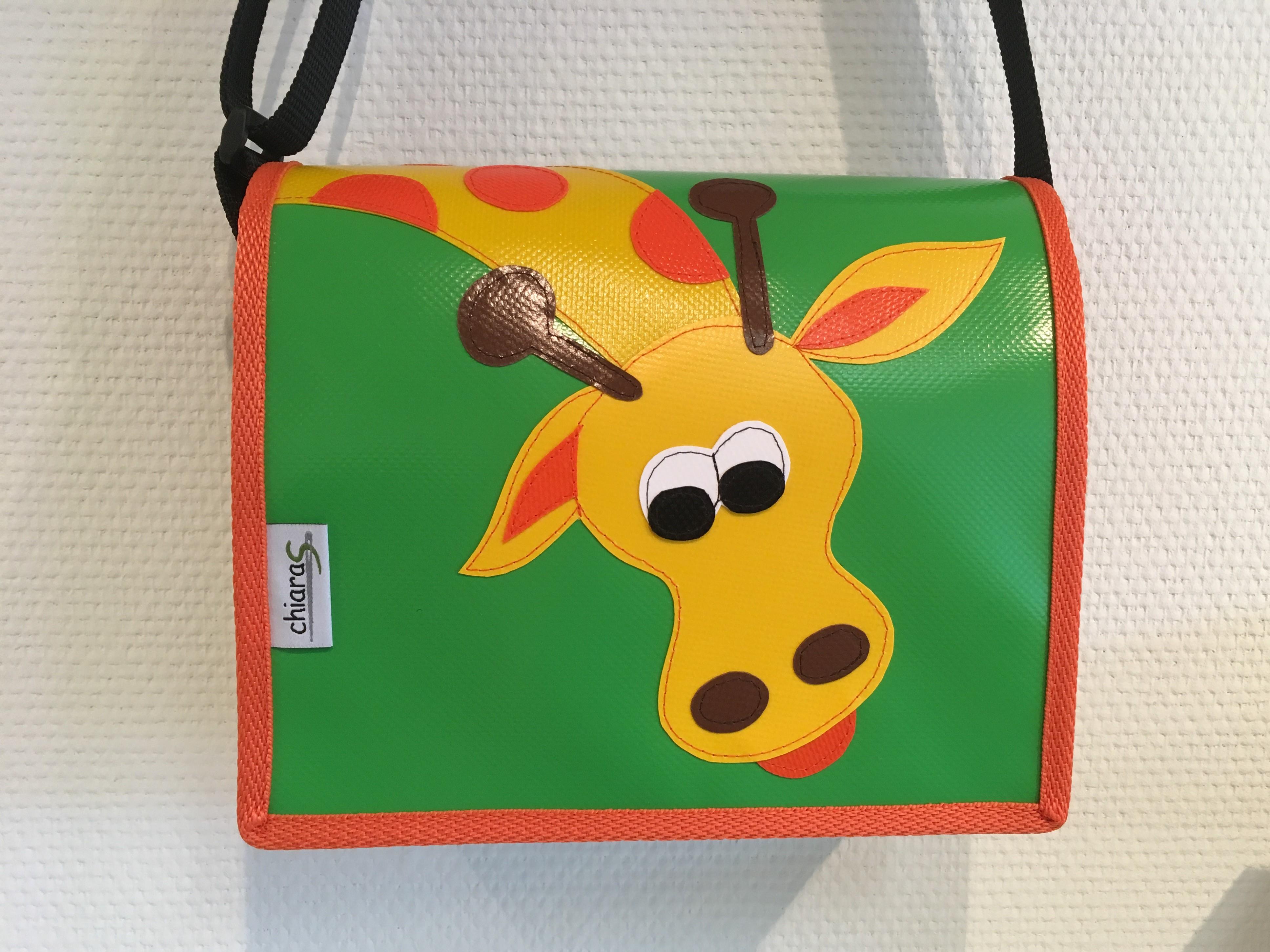 Kindergartentasche aus Blache Giraffe
