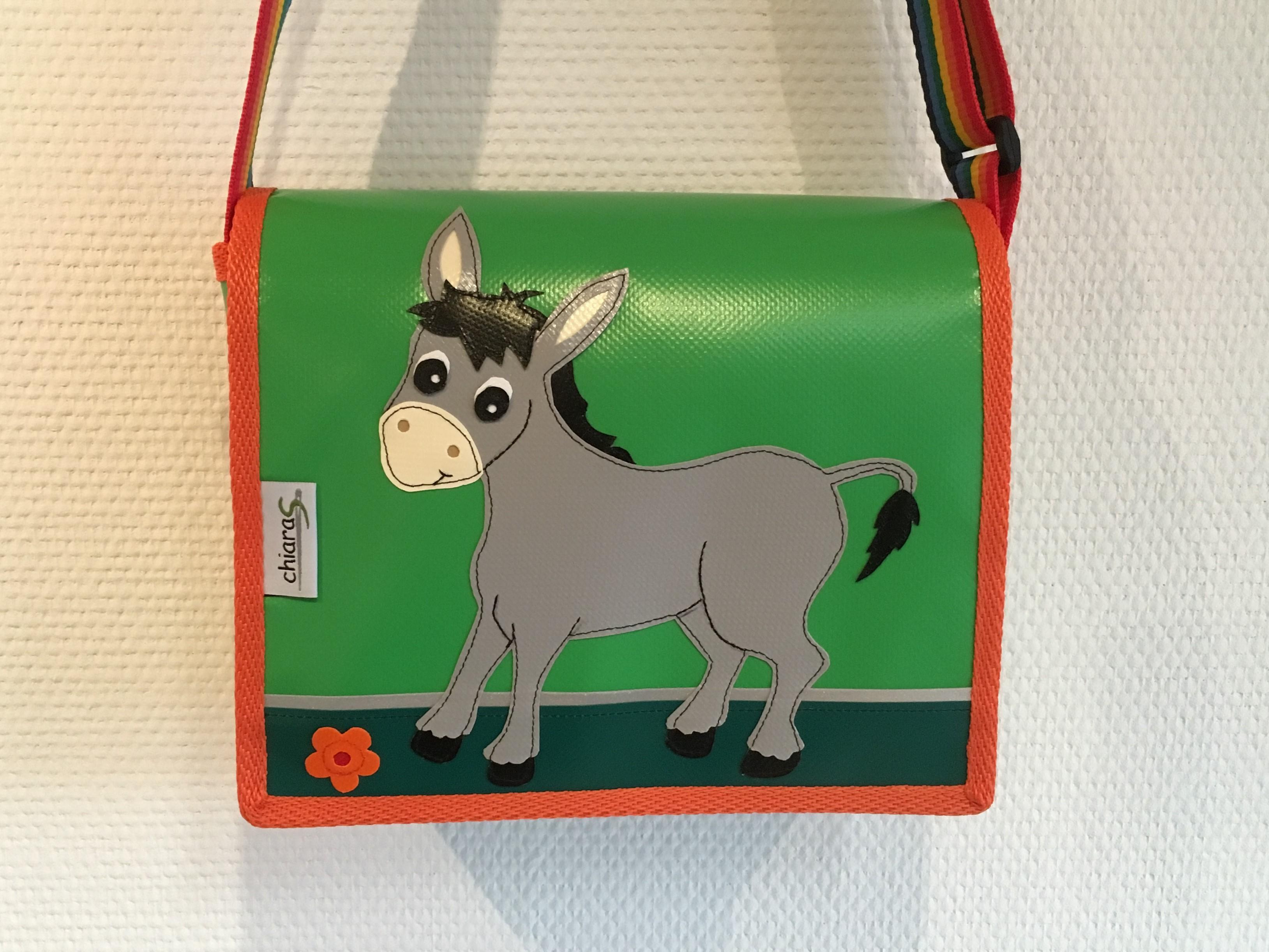 Esel Kindergartentasche aus Blache