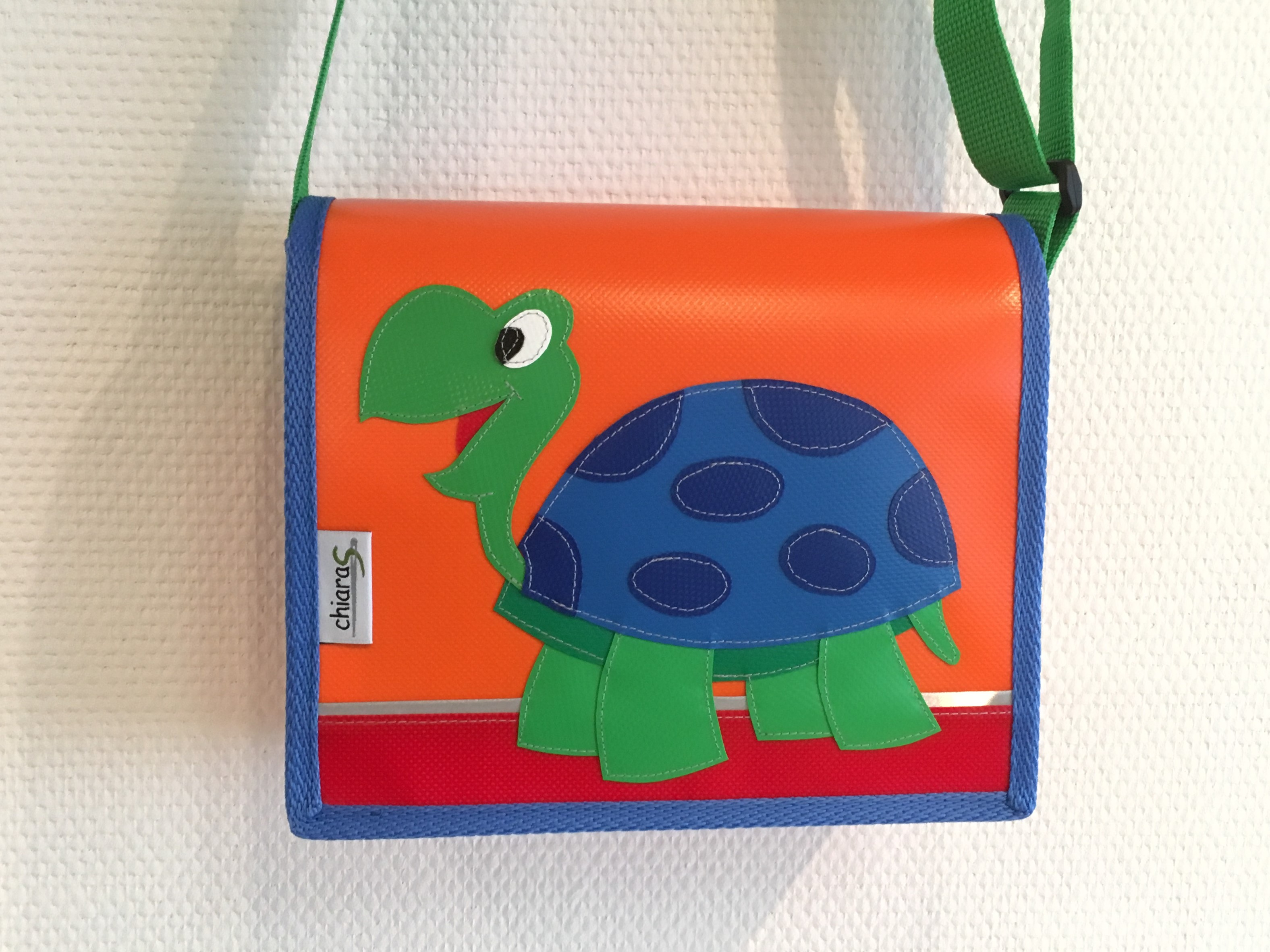 Schildkröte Kindergartentasche Blache