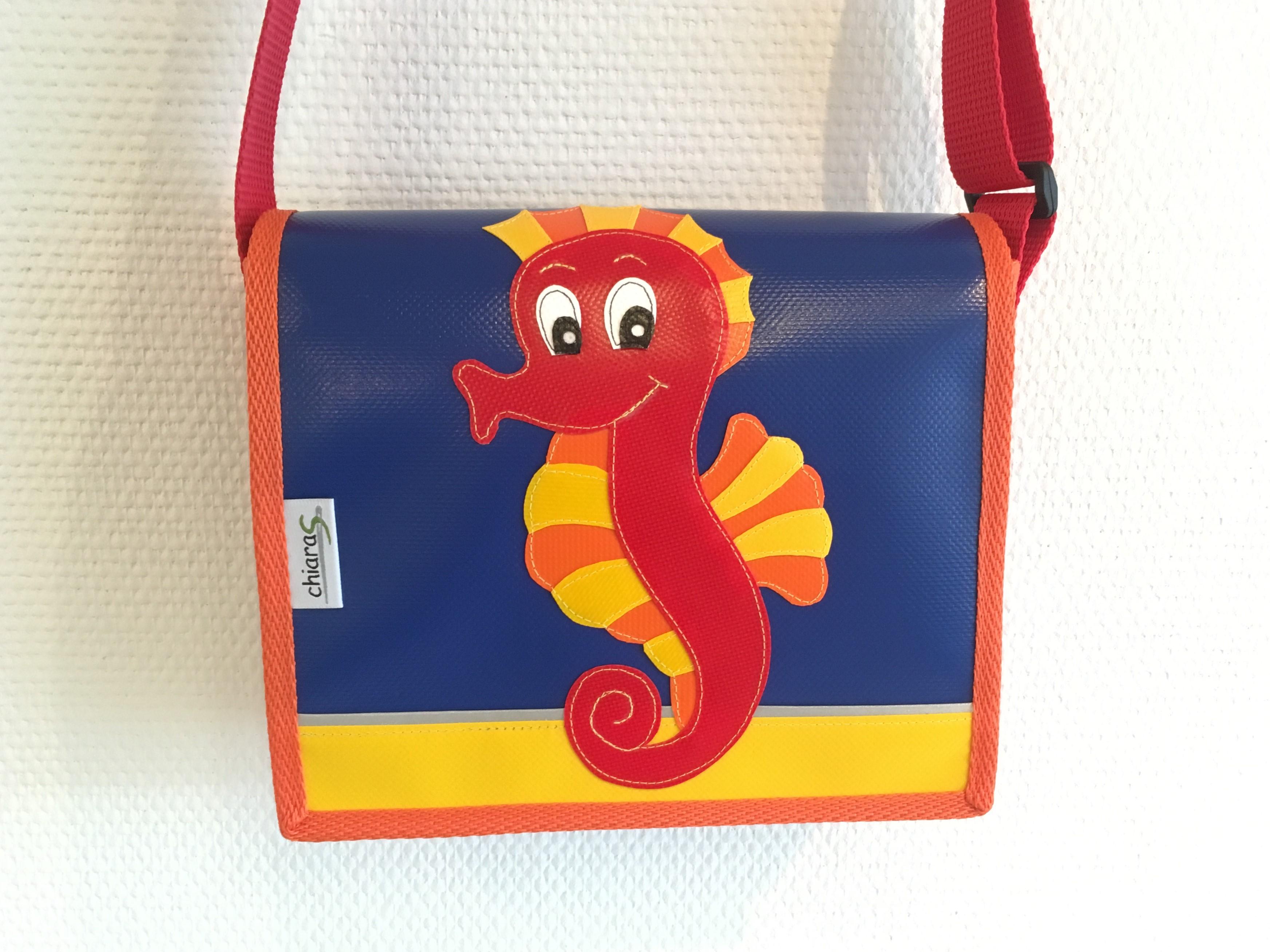 Seepferd Kindergartentasche Blache