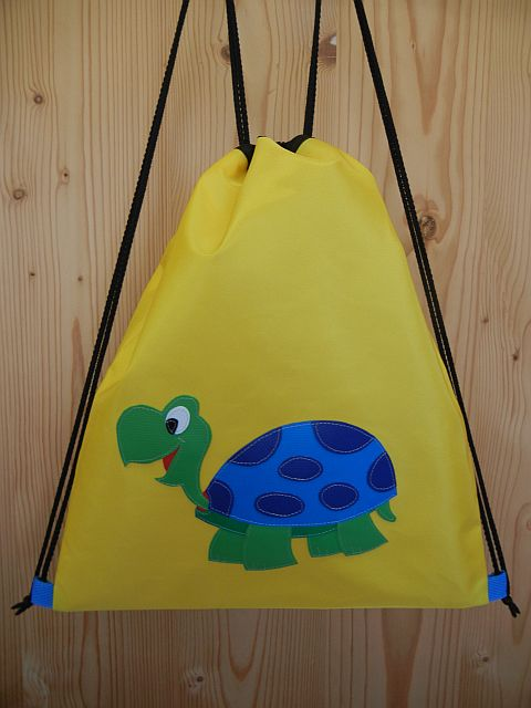 Schildkröte Turnsäckli Sportbeutel