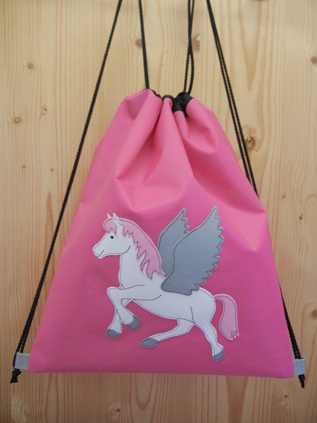 Turnsäckli Sportbeutel Pegasus