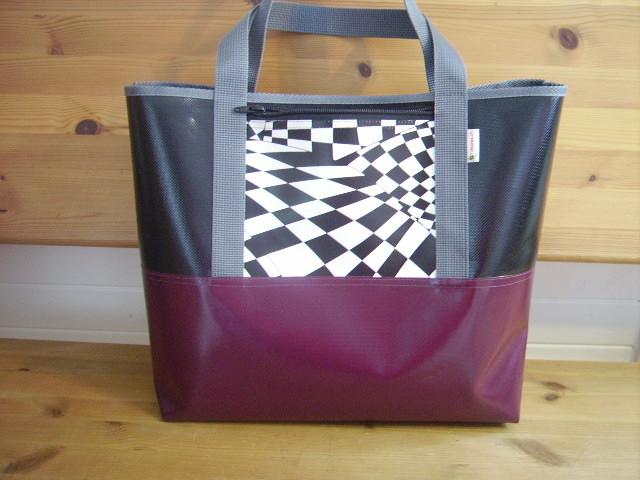 Blachentasche Handtasche Schweizer Handarbeit Shopper