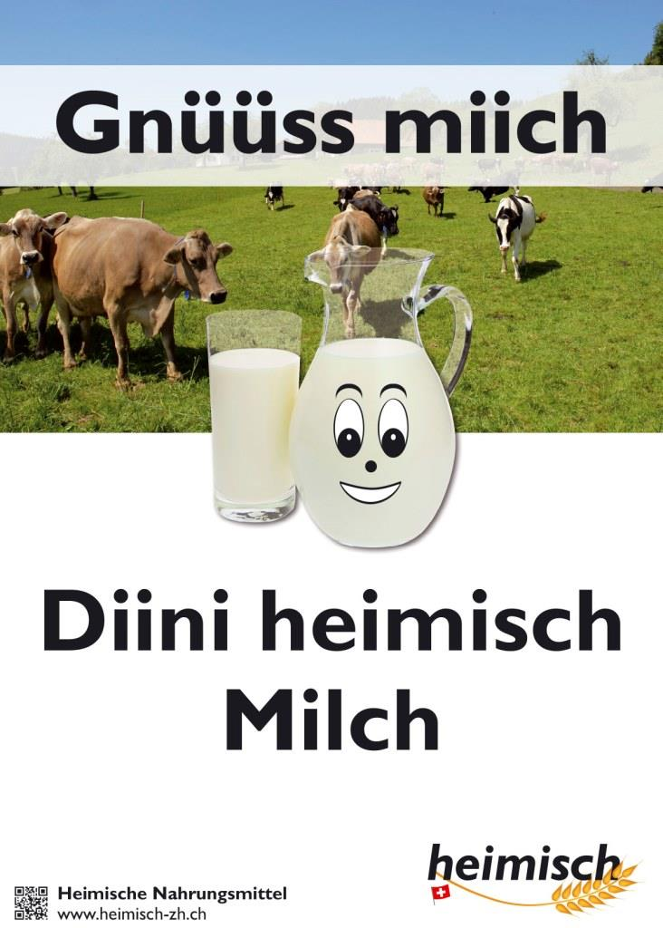 Plakat Milch