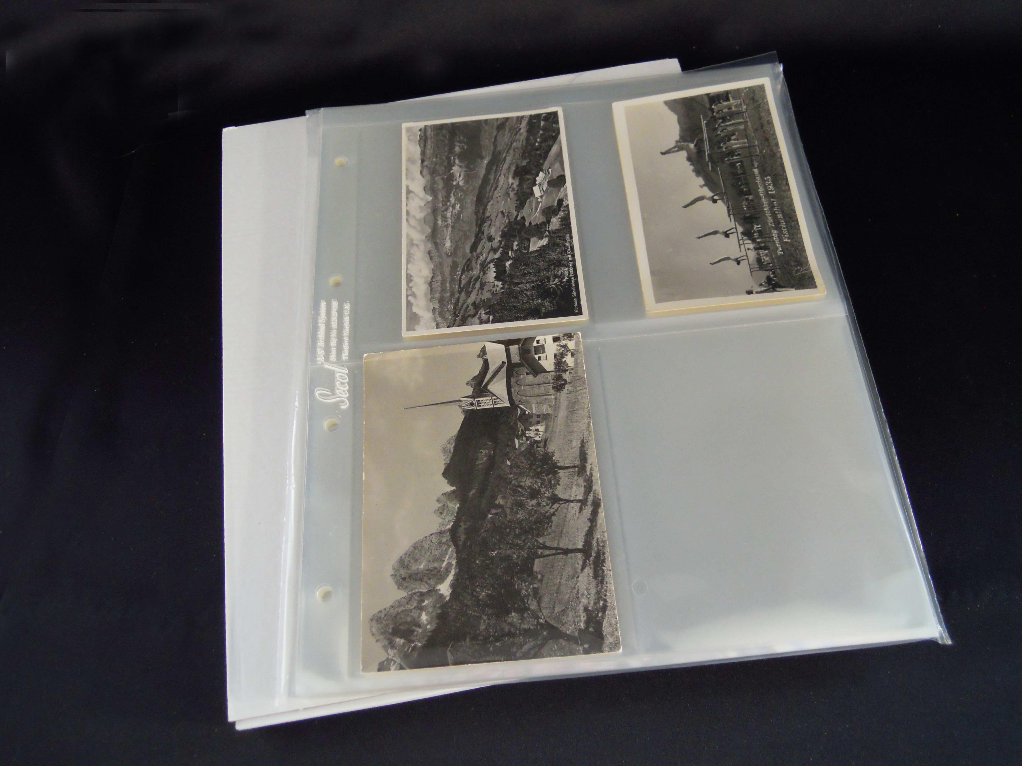Fotohüllen aus Polyester