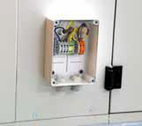 Vorbereitete elektrische Verkabelung