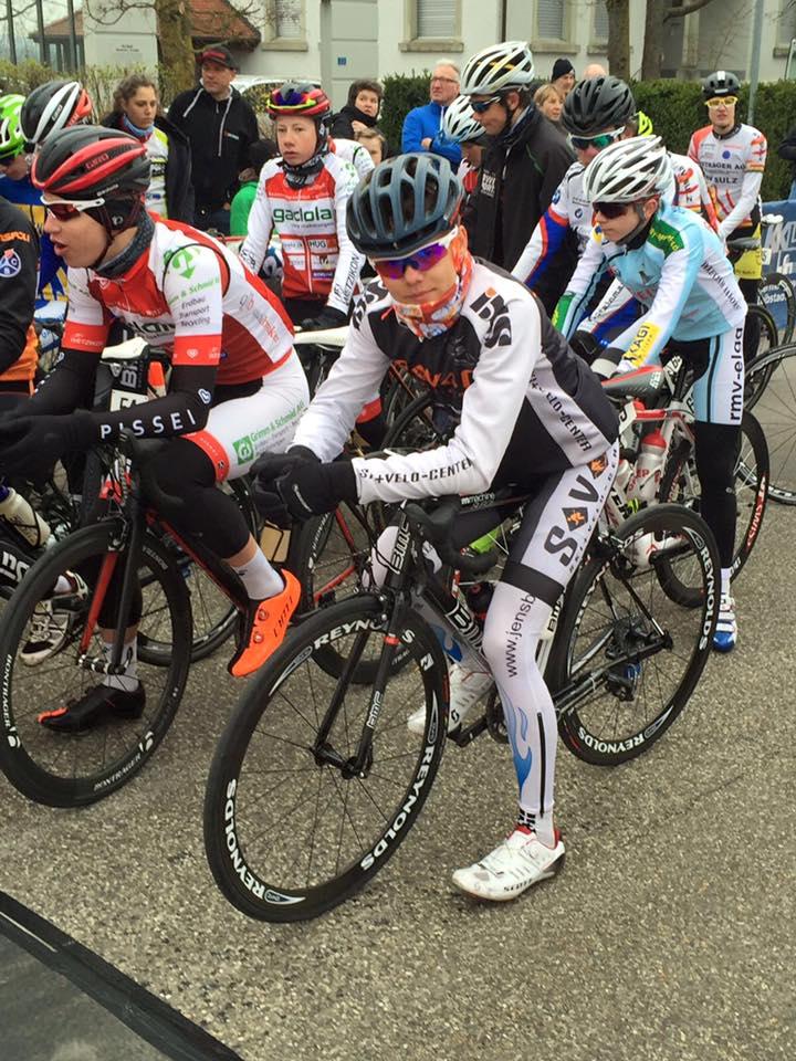 U17 Fahrer Manuel Hofer am Start  (Foto:Lukas Dennda)