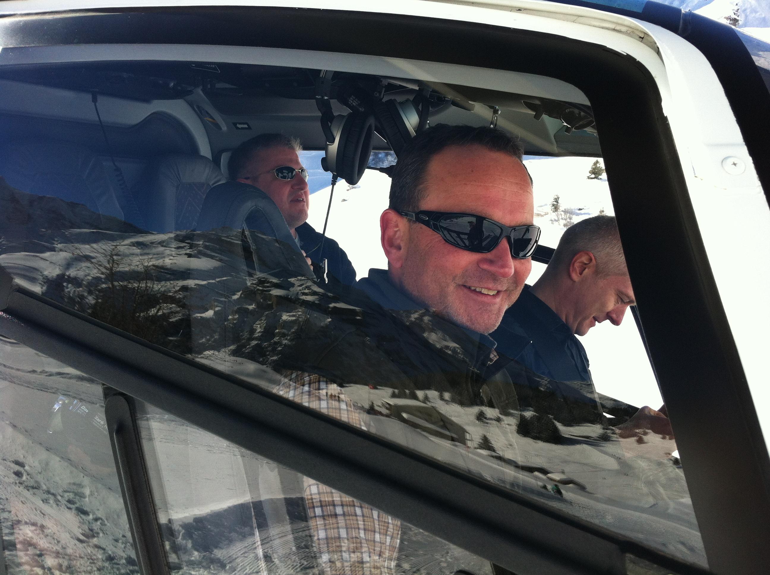 Mike Bär , Ihr Pilot