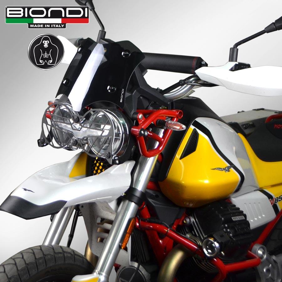 Biondi sport screen - Guzzi V85