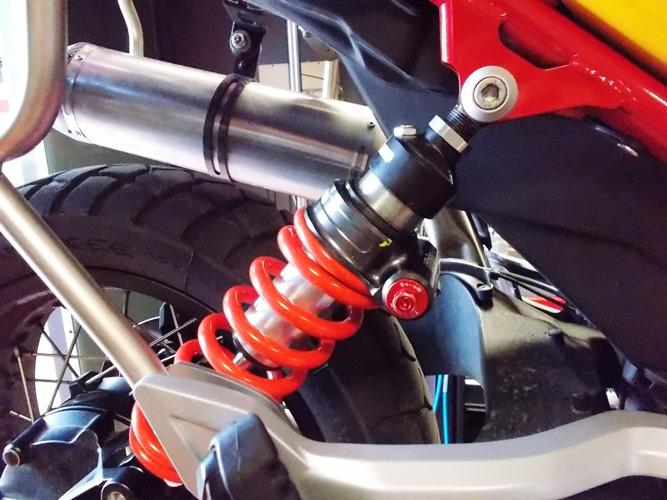 Givi rear shock - Guzzi V85
