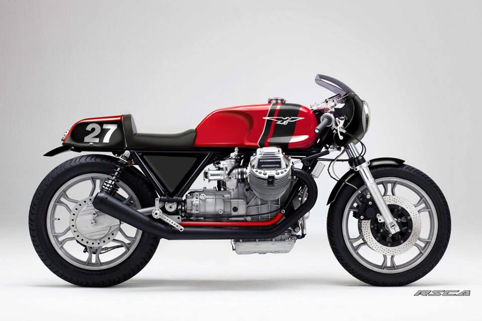 Guzzi 1000 SP Cafe by CafeSportLab