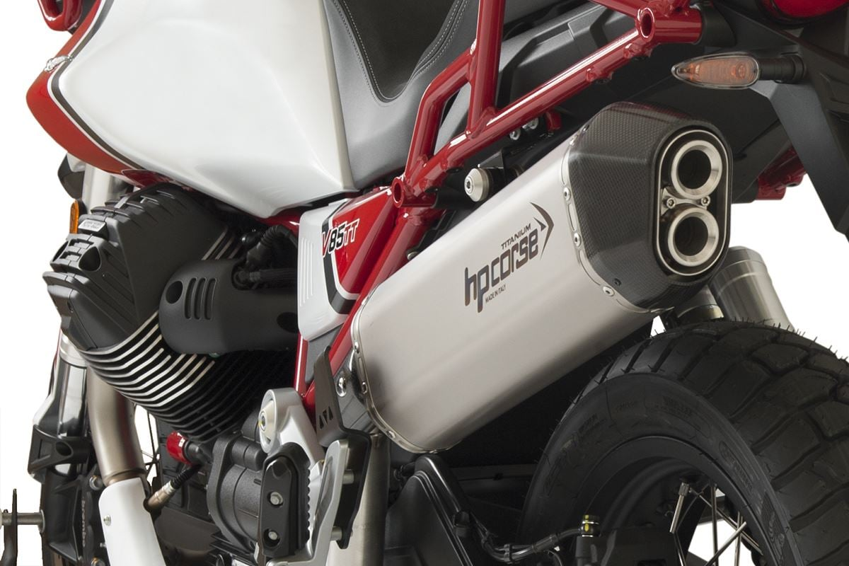 HP Corse Carbon Satin - Guzzi V85