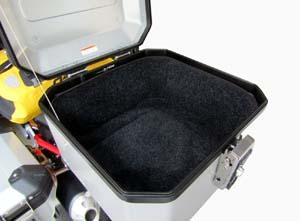 eGlideGoodies - topcase inner lining - Guzzi V85