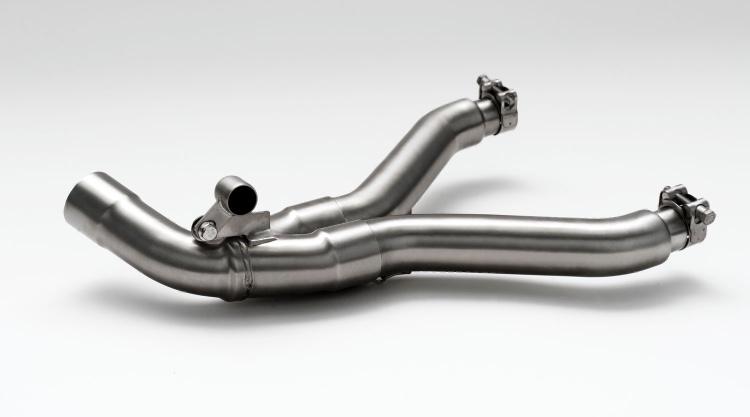Remus Y-crossover decat - Guzzi V85