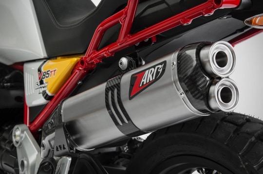 Zard Titanium Sleeve - Guzzi V85