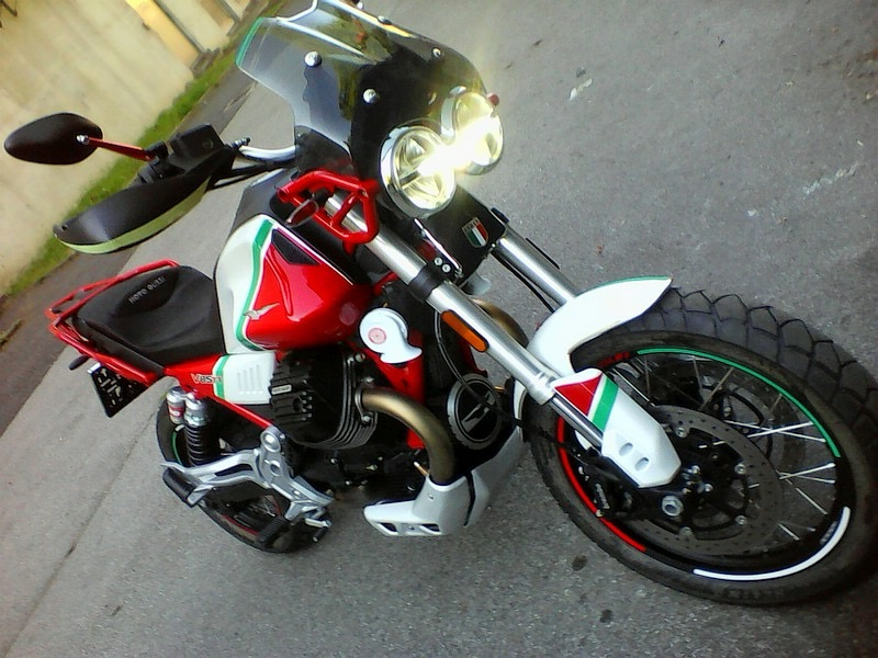 Yamaha FZ front mudguard - V85