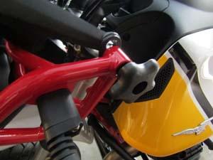 eGlideGoodies windshield knob - Guzzi V85