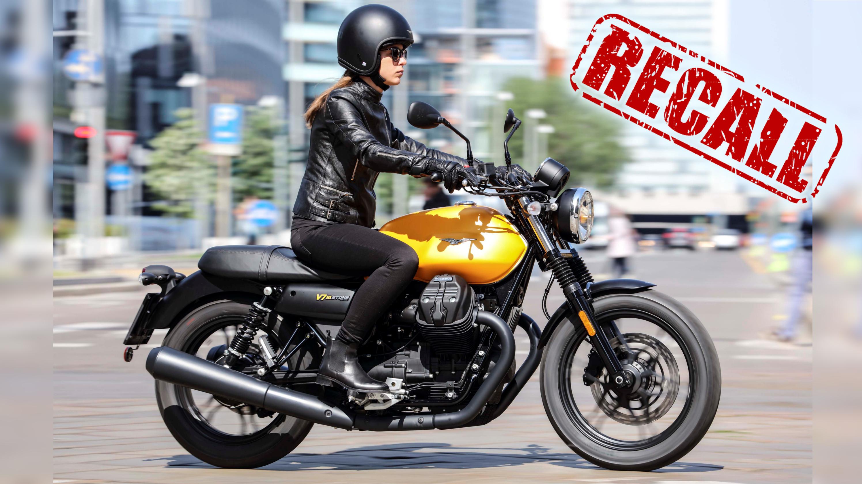 Piaggio/Moto Guzzi Recall notice