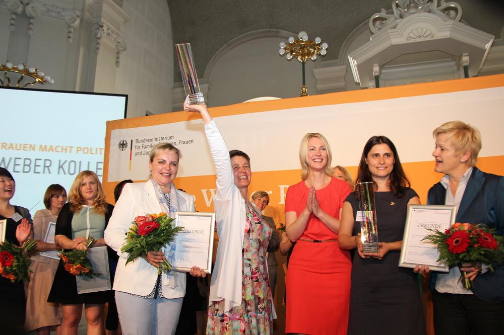 Helen-Weber-Hauptpreisträgerin Elisabeth Schwerin